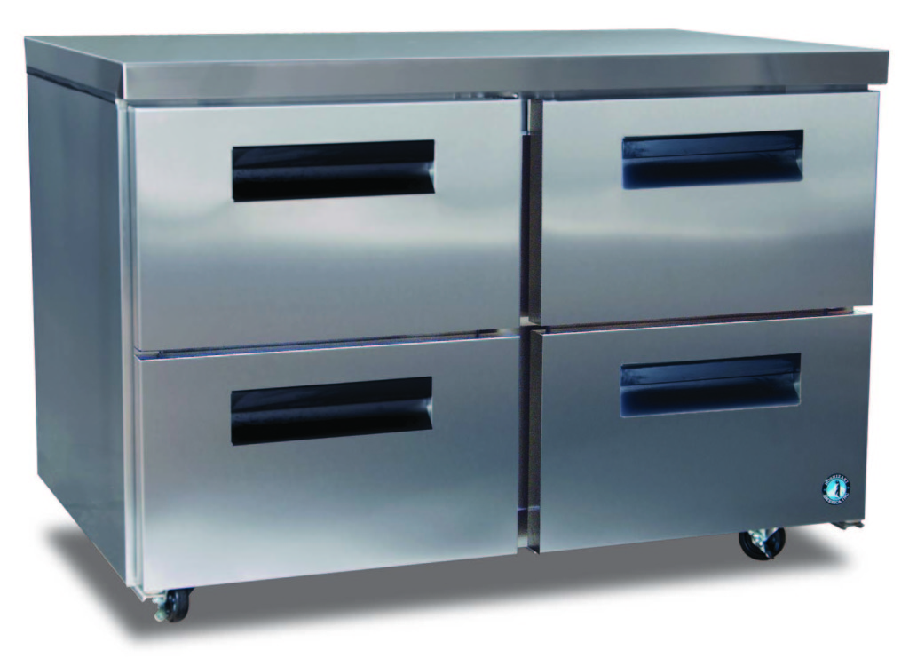 Commercial series undercounter refrig. w/ drawers-0