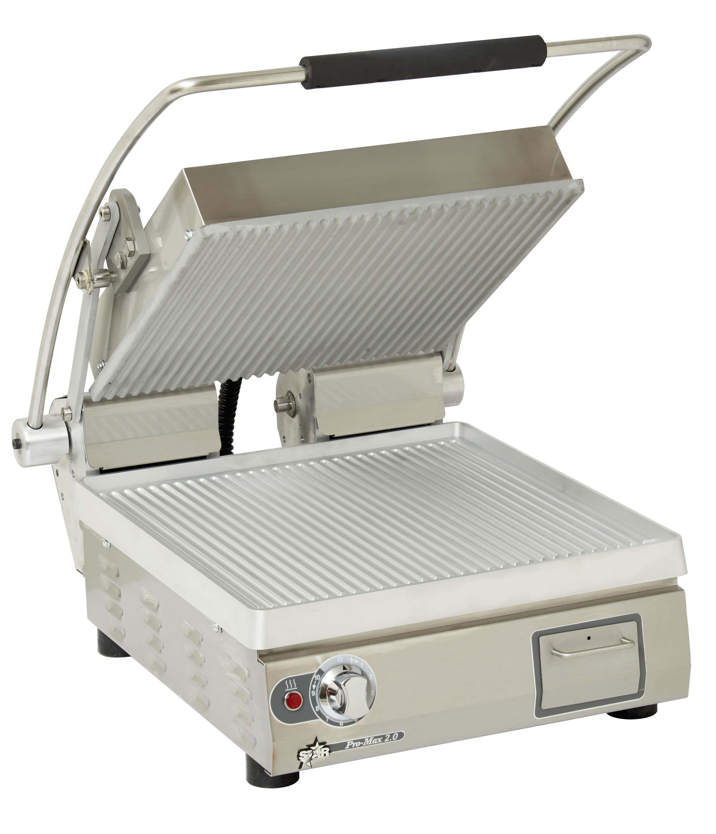 Pro-max 2.0 sandwich grill grooved-0