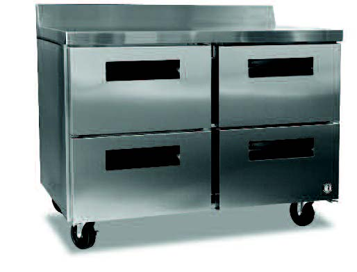 Commercial series worktop freezer w/ drawers-0