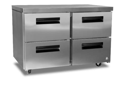 Commercial series undercounter freezer w/ drawers-0
